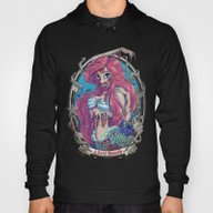 Zombie Little Mermaid Hoody