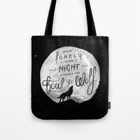 How Lonely The Night Tote Bag