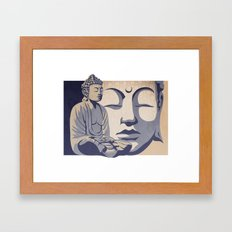 Zen Buddha: Awakened and Enlightened One  Framed Art Print