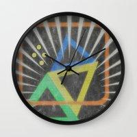 Op Ning A Jazz Singer Wall Clock