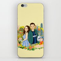 Custom illustration for a couple iPhone & iPod Skin