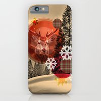 Christmas Scene. iPhone 6 Slim Case