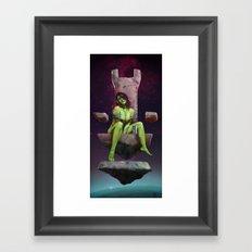 Gamora of Thrones Framed Art Print
