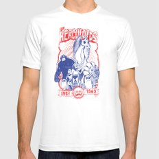 the herculoids White SMALL Mens Fitted Tee