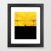 To The Prison Framed Art Print