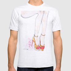 Charlotte Olympia  Mens Fitted Tee Ash Grey SMALL