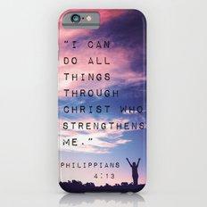 Philippians 4:13 In Natu… iPhone 6 Slim Case