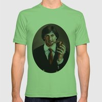 We'll Miss You, Steve.  Mens Fitted Tee Grass SMALL