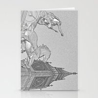 Big Ben And Boadicea Stationery Cards