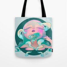 Horror Fish Tote Bag
