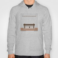 No193 My Forrest Gump minimal movie poster Hoody