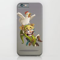 zelda iPhone & iPod Cases featuring Zelda by Dave Armstrong