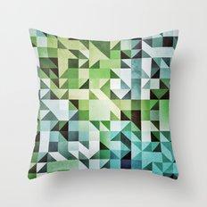 :: geometric maze II :: Throw Pillow