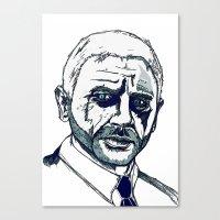Bond. Canvas Print