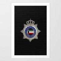Ministry of interior - Kuwait Art Print