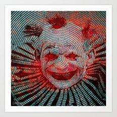 Le Clown Art Print