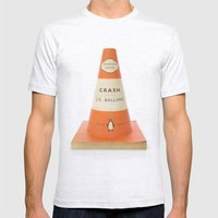 Writer's Block Mens Fitted Tee Ash Grey SMALL