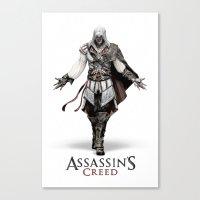 Ezio Auditore From Assas… Canvas Print