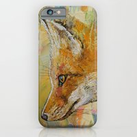 iPhone & iPod Case featuring Red Fox by Michael Creese