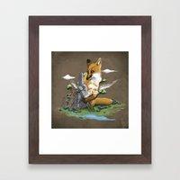 Clean The World II Framed Art Print