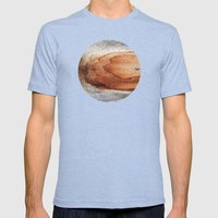 Planetary Bodies - Rust … Mens Fitted Tee Tri-Blue SMALL