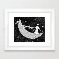 I have loved the stars too fondly to be fearful of the night Framed Art Print