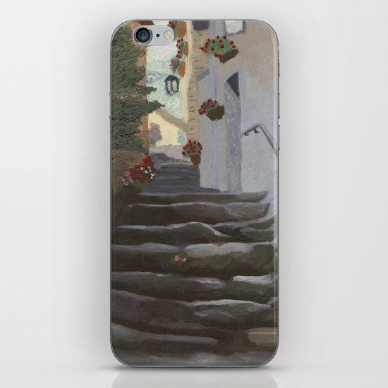 Italian Street and Stairs  iPhone & iPod Skin