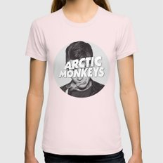 Arctic Monkeys Alex Turn… Womens Fitted Tee Light Pink SMALL