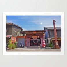 Old Town Koh Lanta Art Print