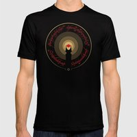 The Lord Of The Rings Mens Fitted Tee Black SMALL