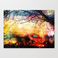 Rainbow Kisses Canvas Print