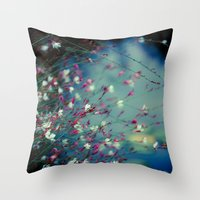 Monet's Dream Throw Pillow