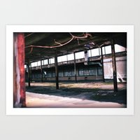 Echos Of Industry Art Print