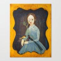 Flower Vision. Canvas Print