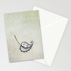 Falling leaf Stationery Cards