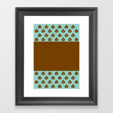 MINT CHOCOLATE Framed Art Print