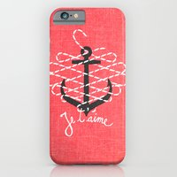 iPhone & iPod Case featuring Je t'aime by Andrei Robu