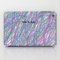 This Is Art. iPad Case