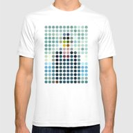 Rene Magritte Mens Fitted Tee White SMALL
