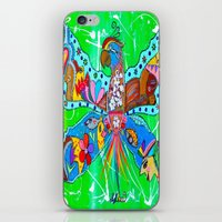 PARROFLY WITH ME! iPhone & iPod Skin