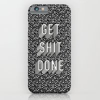 Get Shit Done Memphis Static iPhone 6 Slim Case