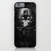 iPhone & iPod Case featuring The Punisher by dTydlacka