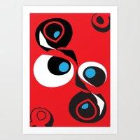 No.08 Art Print