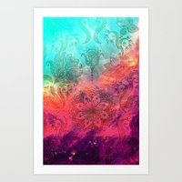 Mantra - for iphone Art Print