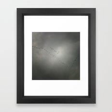 Comeback Framed Art Print
