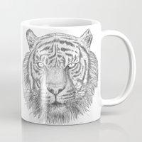 The Tiger's head Mug