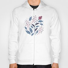 Purple Thistle Buds Hoody