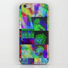 Poseidon Glitch 02 iPhone & iPod Skin