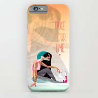 iPhone & iPod Case featuring Take your time by Francesco Malin