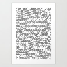 Righe Art Print